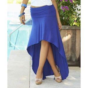 Dresses & Skirts - TEAL High Low Convertible Maxi Skirt Dress